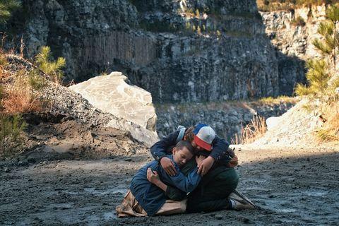 Rock, Bedrock, Outcrop, Geology, Formation, Travel, Terrain, Adventure, Geological phenomenon, Bag,