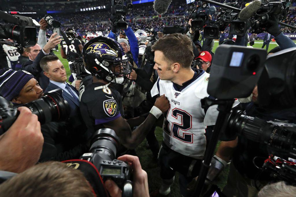 Tom Brady Challenges Lamar Jackson to a 40-Yard Dash