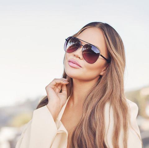 Eyewear, Sunglasses, Hair, Face, White, Lip, Glasses, Street fashion, Cool, Skin,