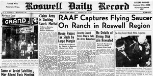 qué ocurrió en Roswell