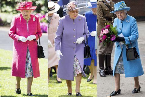 英國女王, 伊麗莎白二世, 女王穿搭, 英國皇室穿搭, Queen Elizabeth