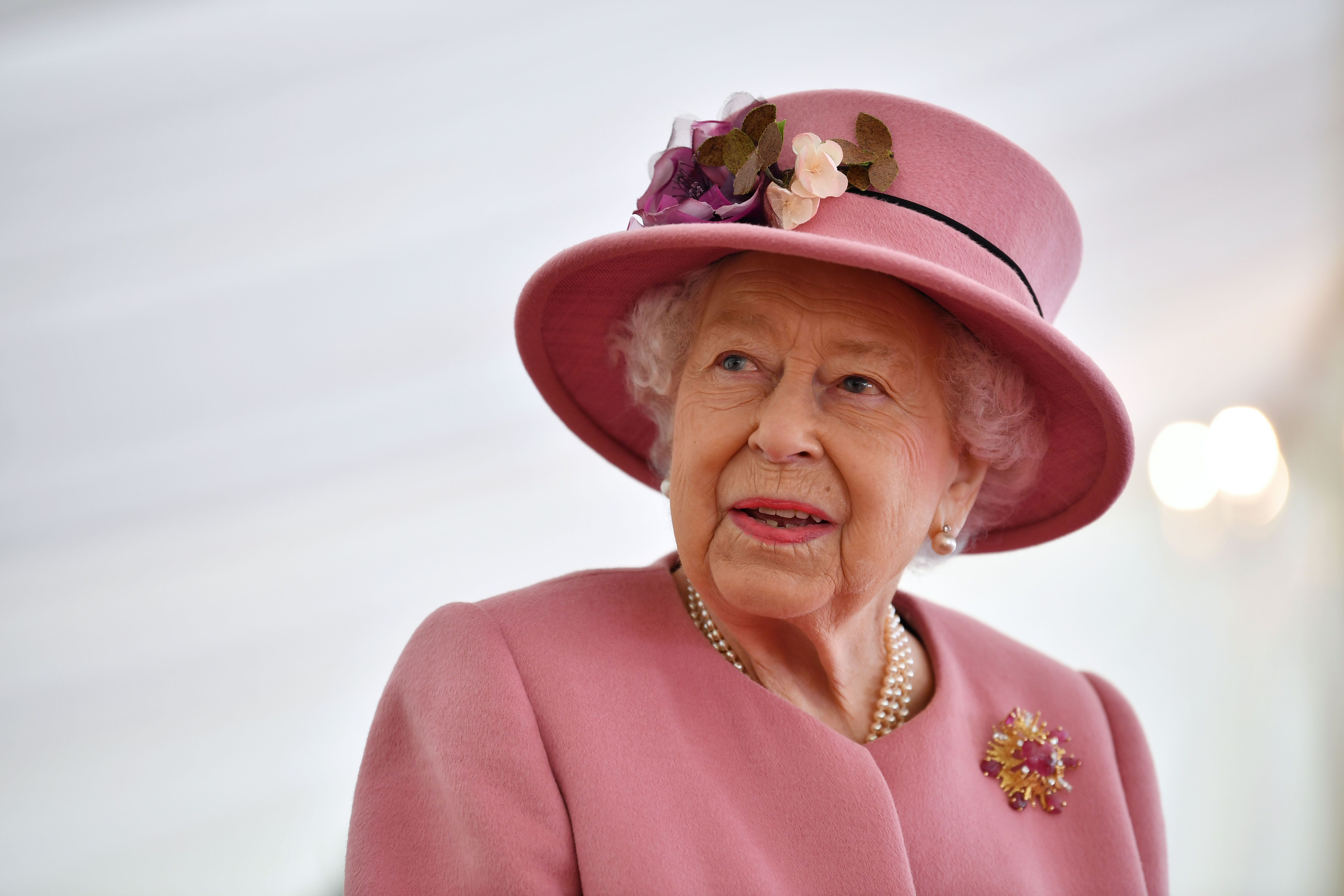 The Queen wears incredible sapphire tiara and matching wedding jewellery for striking new portrait