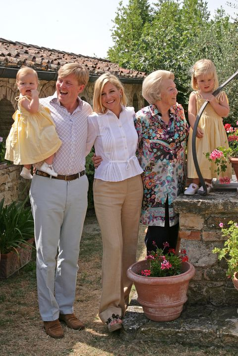dutch royals on holiday in italy
