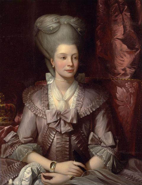 ritratto della regina charlotte
