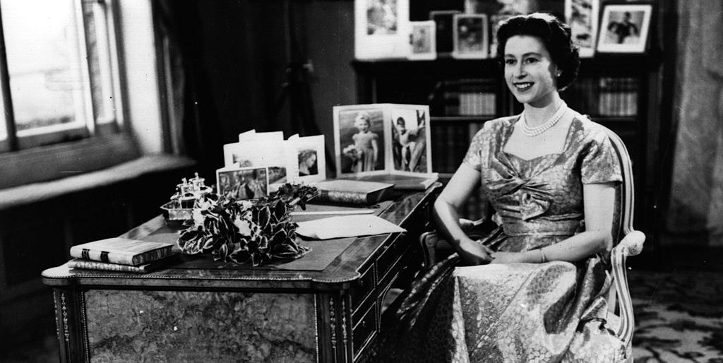 The Queen's first televised Christmas message