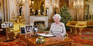 Queen Elizabeth II delivers her 2018 Christmas speech