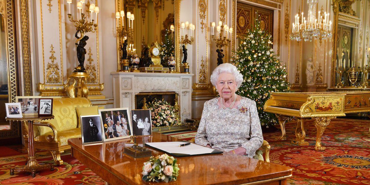 Queen Elizabeth II delivers her 2018 Christmas speech