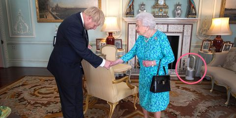 This Dyson fan is fit for the Queen