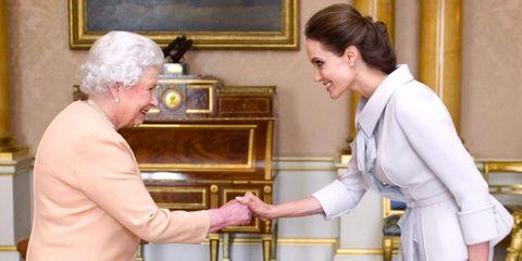 Queen Elizabeth Angelina Jolie