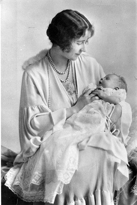 queen elizabeth baby