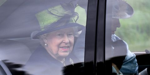 The Royal Family Attend Crathie Church