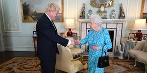 Queen Elizabeth Boris Johnson
