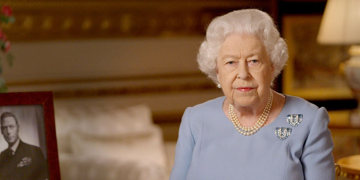 The Secret Meaning Behind the Brooches the Queen Wore During Her VE Day Address