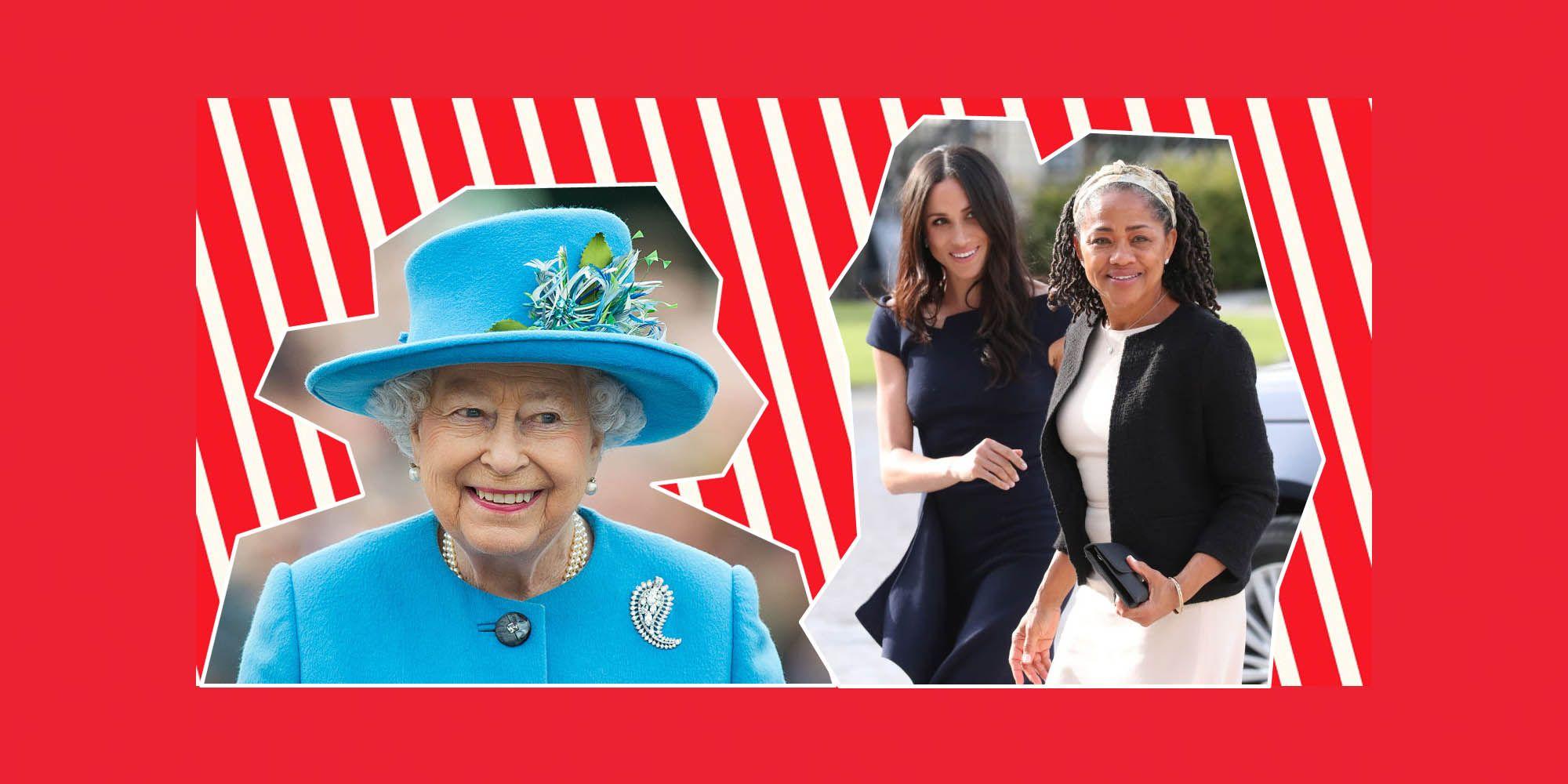 Queen Elizabeth, MeghanMarkle, Doria Ragland