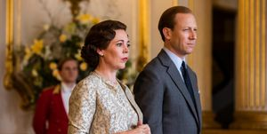 Olivia Colman as Queen Elizabeth II, Tobias Menzies as the Duke of Edinburgh, The Crown season 3