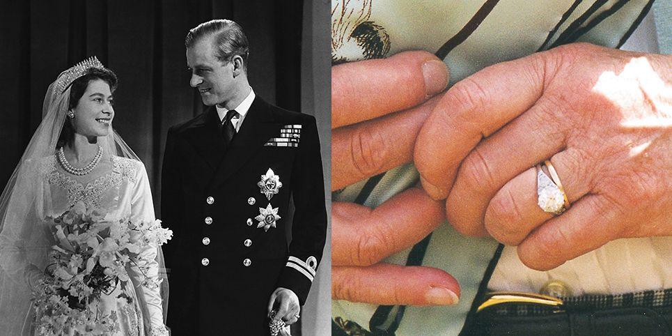 Pierścionek zaręczynowy Królowej Elżbiety II