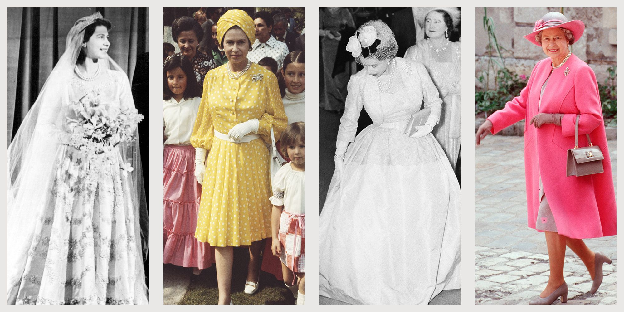 Photos Of Queen Elizabeth S Style How The British Queen S Fashion Has Evolved