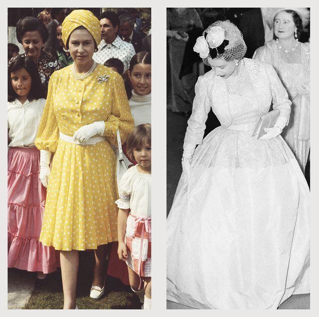 queen elizabeth fashion style