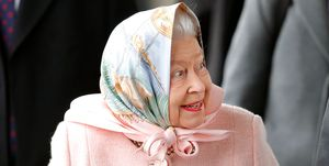 The Queen Arrives At Kings Lynn Station For Her Christmas Break At Sandringham