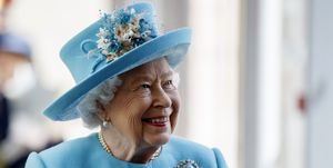 The Queen visits the British Airways headquarters to mark centenary