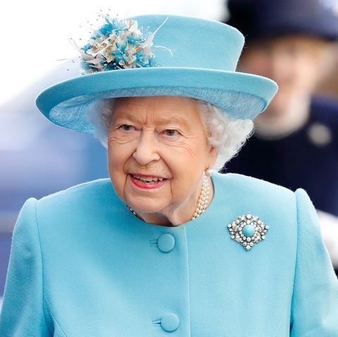 The Queen visits the British Airways headquarters