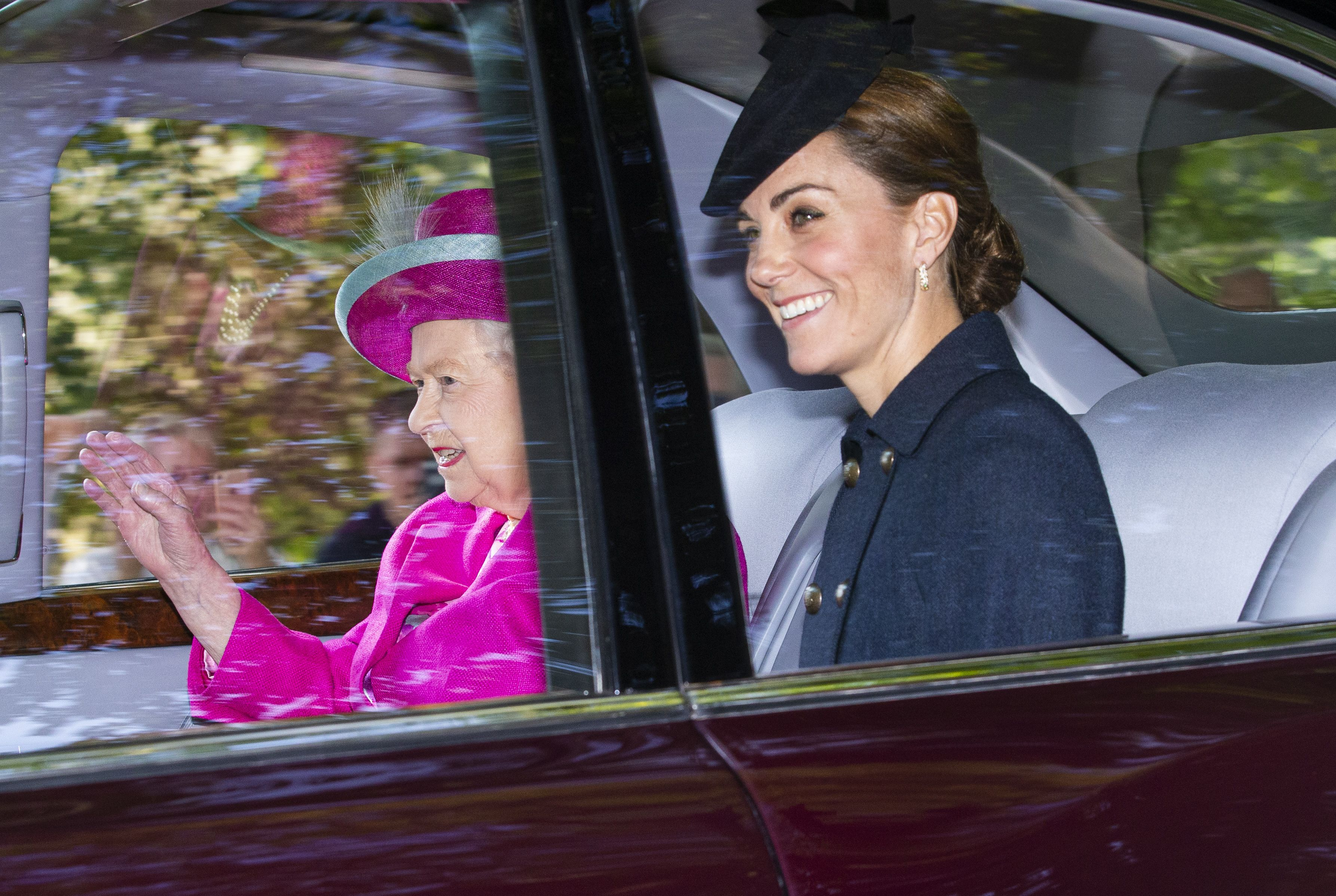 Kate Middleton and Prince William Join Queen Elizabeth for Church in Scotland
