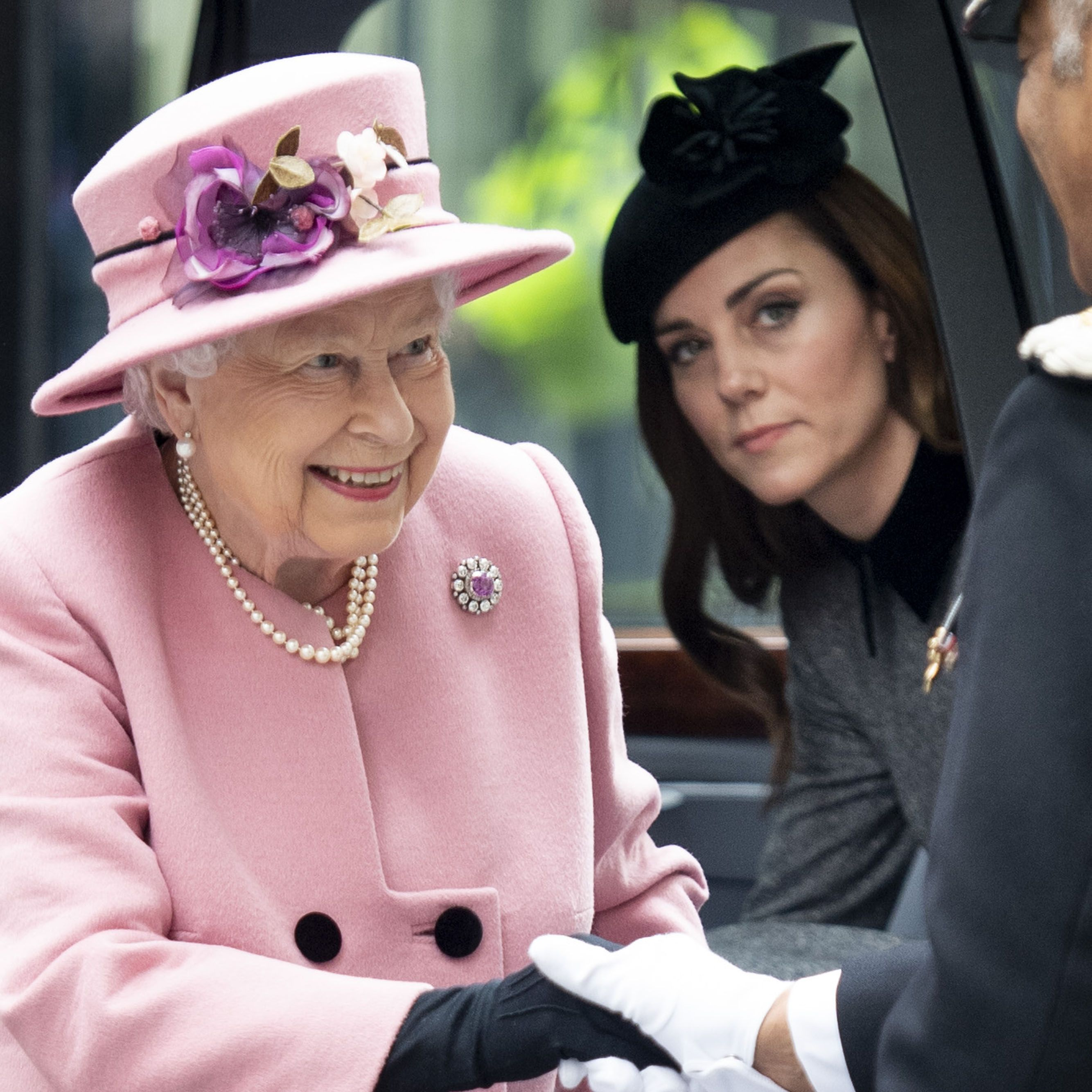 Kate Middleton and Queen Elizabeth Sharing a Blanket Is the Sweetest Thing You'll See Today