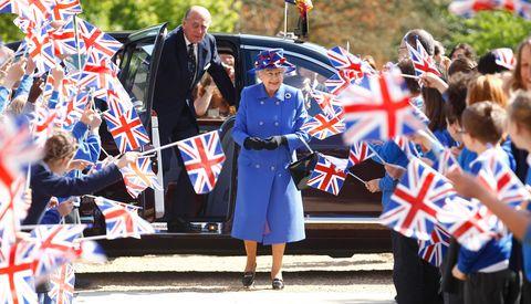 queen elizabeth ii and prince philip, duke of edinburgh visit cambridge