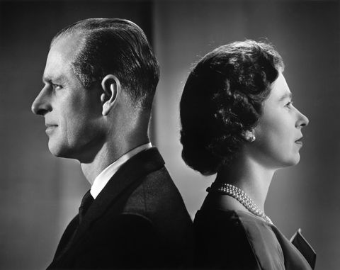 queen elizabeth ii and prince philip portrait