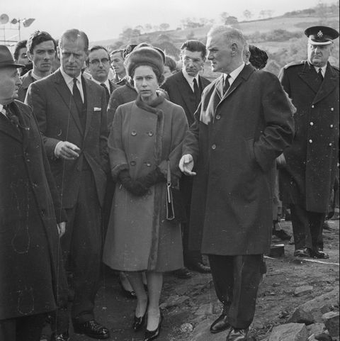 The Queen At Aberfan