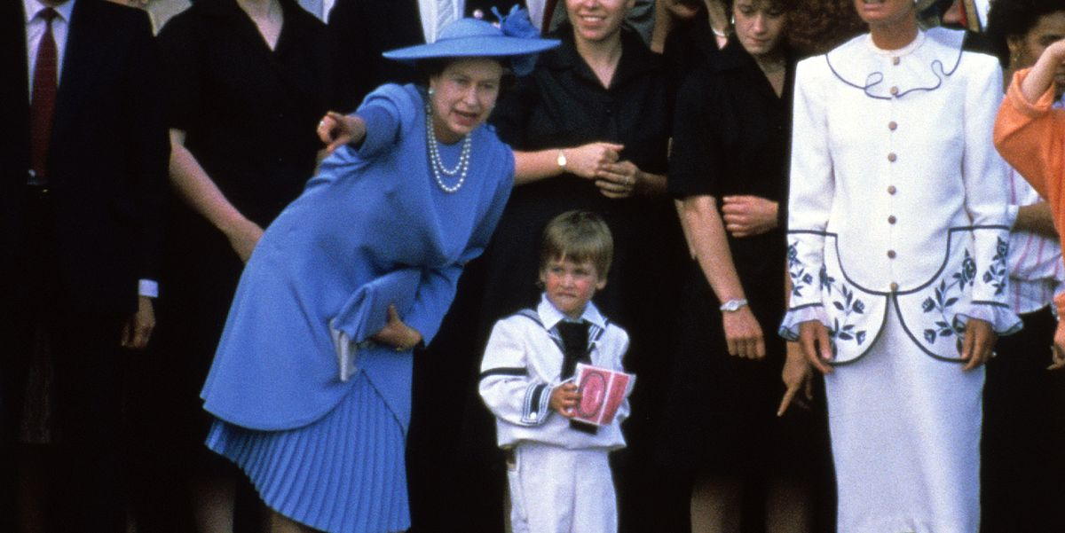 My How Time Flies Queen Elizabeth At 50 >> Queen Elizabeth Ii Runs After Toddler Prince William At