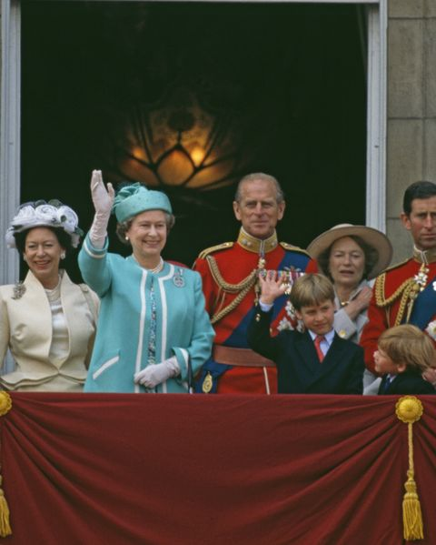 royal family trooping