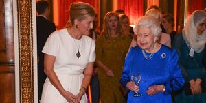 The Queen Hosts A Reception To Celebrate The Work Of The Queen Elizabeth Diamond Jubilee Trust