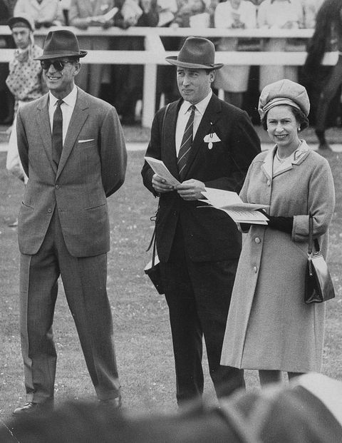 Lord Porchester, Prince Philip And Queen Elizabeth II