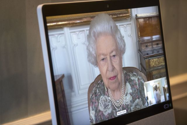 virtual audiences at buckingham palace