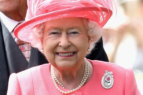 queen elizabeth centenary rose brooch