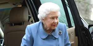 Queen Elizabeth II at WI meeting