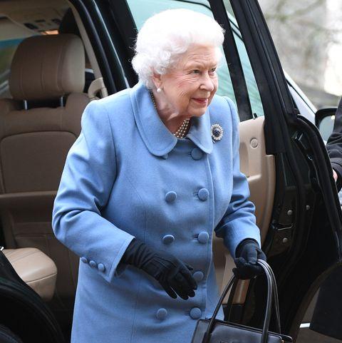 Queen Elizabeth II at WI meeting