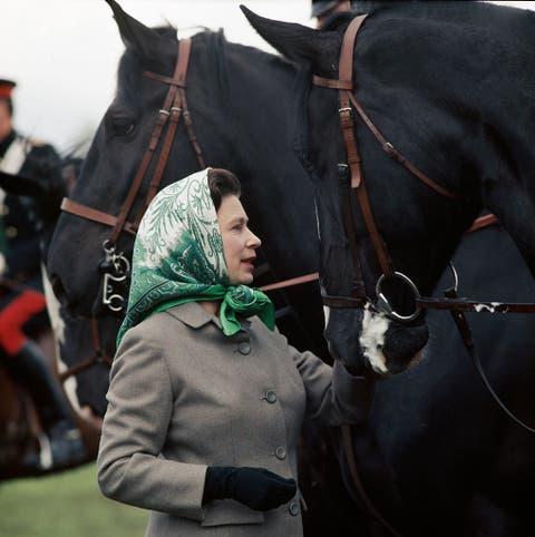 Queen Elizabeth at Horse Show