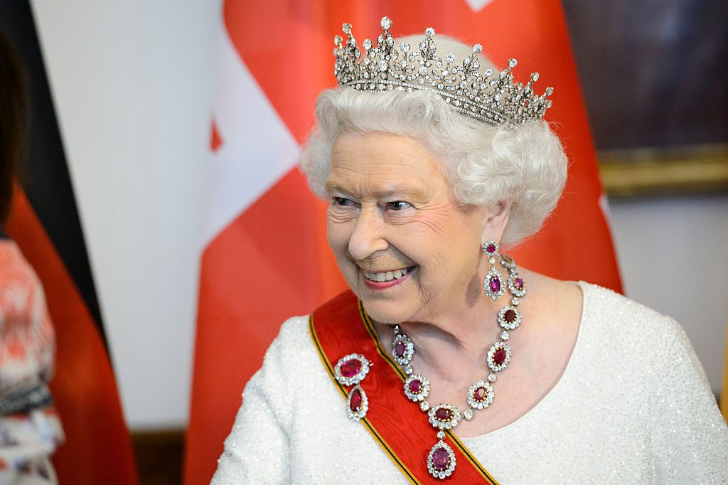 The Queen's dresser uses gin to clean Her Majesty's silverware and diamonds