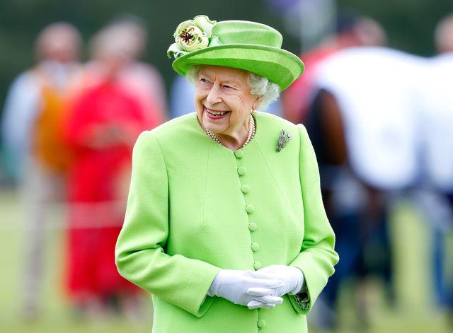 queen elizabeth ii attends the royal windsor cup 2021
