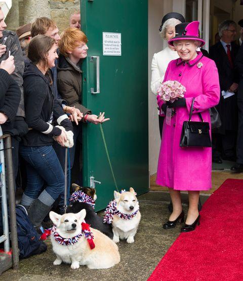 Queen Elizabeth II Accompanied By The Duke Of Edinburgh Visits The South West