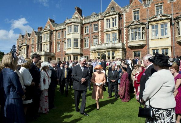 queen elizabeth ii hosts a garden party at the sandringham estate