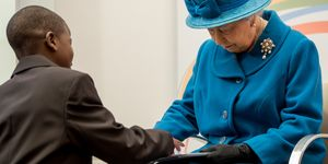 Queen Elizabeth II Visits The Royal Commonwealth Society