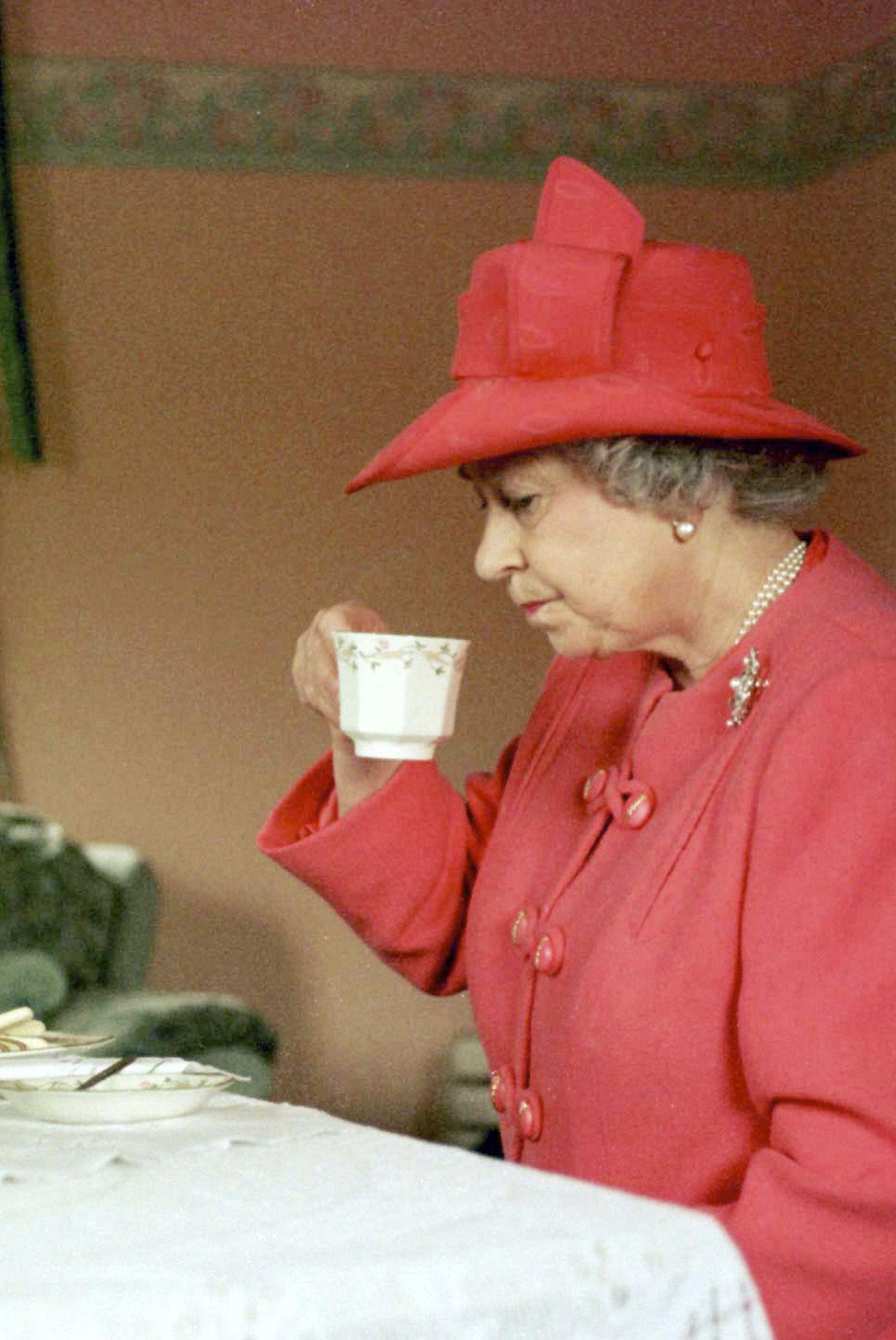 GBR: Queen Elizabeth II visits the area of Castlemilk in Glasgow