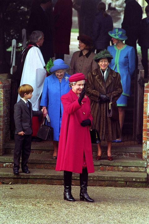 Royalty - Royal Family Christmas - Sandringham