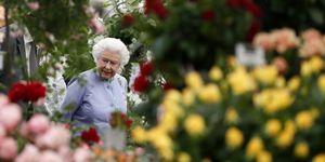 Queen Elizabeth II And The Duke Of Edinburgh Visit The Chelsea Flower Show