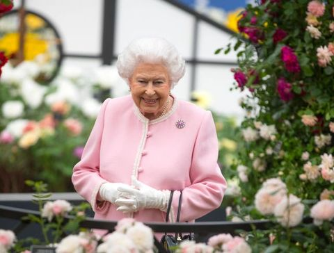 queen elizabethChelsea Flower Show 2018 - Press Day