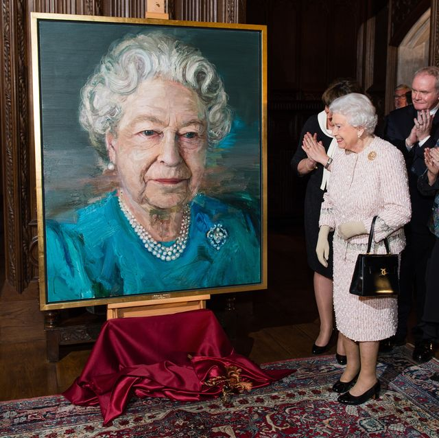 the queen  the duke of edinburgh attend  a co operation ireland reception