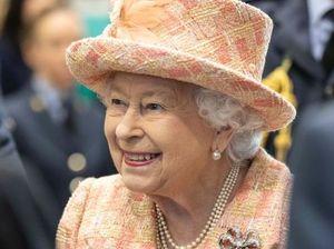 Her Majesty The Queen elizabeth Visists RAF Marham royal engagement